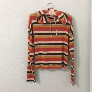 🐝Caution to the Wind stripe sweater